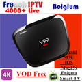 Android IPTV Box V99 Hero 2/16G With French Belgium 1 Year Arabic IPTV French IPTV Box office VOD Android TV BOX Set top box