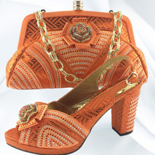 Cheap Orange Bridal Shoes