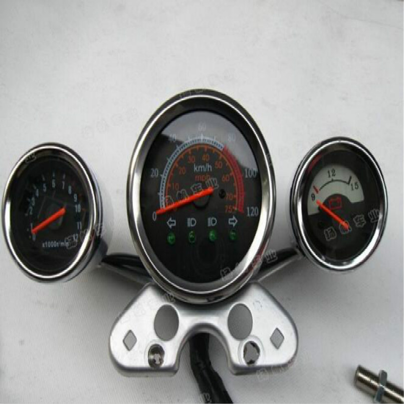 motorcycle speedometer odometer refit atv speedometer motorcycle gear indicator speedometer for atv 150cc free shipping