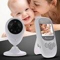 Hot baba eletrônica vídeo babá IR Night vision Lullaby monitor de Temperatura 2 way falar 2.4 polegada rádio babá doppler fetal