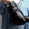 Hot Sale 2017 Fashion Fingerless Gloves For Men Warmth Sheepskin Glove Wrist Thermal Winter Genuine Leather Solid Mittens M022ns