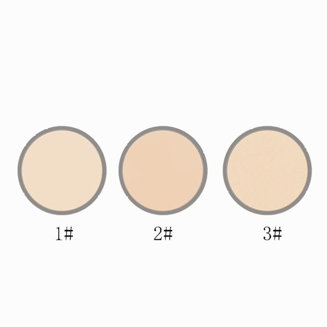 LIDEAL Brand Translucent Compact Pressed Face Contour Palette Finishing Powder Setting Makeup Bare Mineralize Skinfinish Soft 3