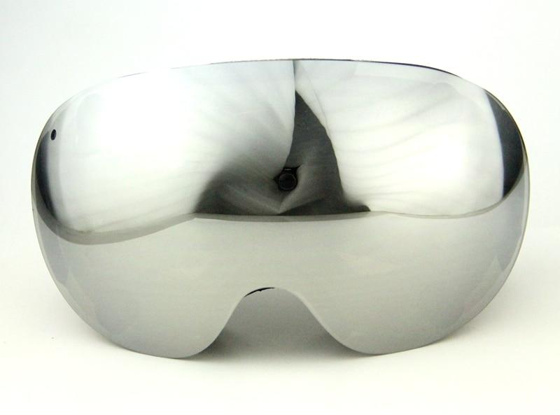 ФОТО 2016 magnet lenses professional ski goggles 3Layer len anti-fog big ski glasses skiing snowboarding men snow goggles Discount