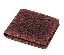 Free Ship JMD Genuine Leather Mens Short Wallet # 8077C