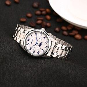 Image 2 - Berny mężczyźni zegarek kwarcowy moda Top luksusowa marka Relogio Saat Montre Horloge Masculino Erkek Hombre japonia ruch 2191M