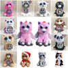 Lensple Hot Sales Birthday Christmas Halloween Gifts Pets Change Face Interesting Cute Soft Stuffed Plush Toys