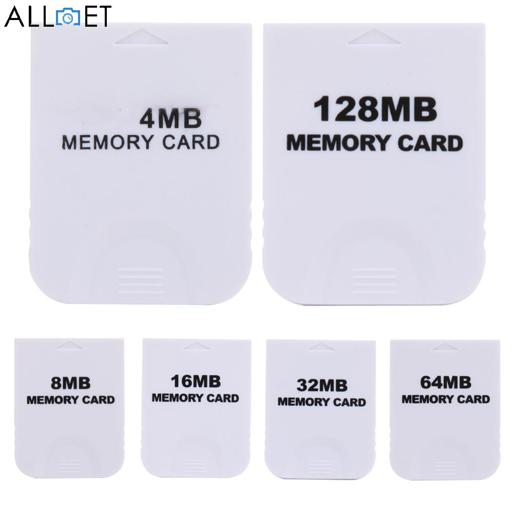 все цены на 4MB 8MB 16MB 32MB 64MB 128MB Practical White Memory Card for Nintendo Wii Gamecube GC Game Memory Cards