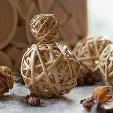 Willow ball decoration natural crafts sepak takraw