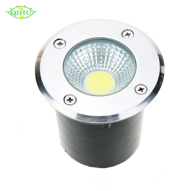 AC85-265V IP68 5 W 10 W Begraben Lampe Inground Beleuchtung Im Freien COB LED U-lampe Licht DC12V Garten Licht Yard R G B