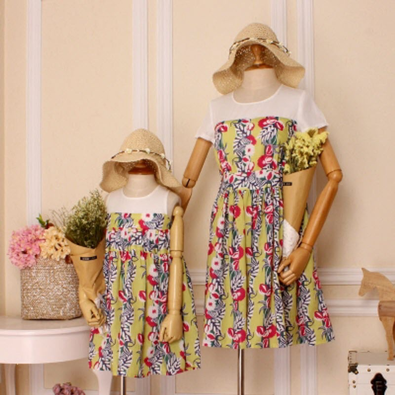 children clothes girls family matching clothes mother and daughter Clothes Party Dress Casual Bohemian Femininas Vestidos 4XL XL женские блузки и рубашки waqia 2015 cueca camisas femininas vestidos vestidos blusas femininas s xxl
