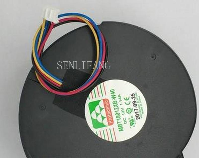 For MBT18012XB-W40 12v 1.14aA 4wire Cooling Fan Hzdo 10.8cm