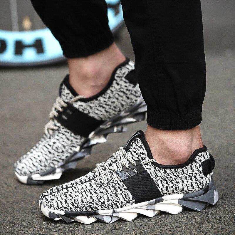 primavera nuevos zapatos corrientes de las zapatillas de deporte zapatos de hom