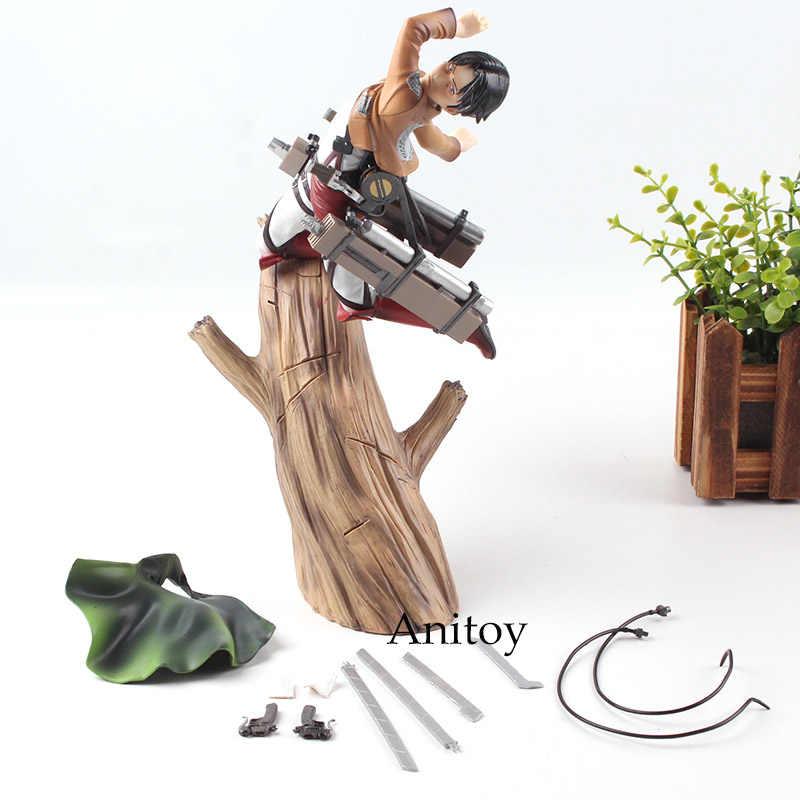 Ataque em Titã Levi Ackerman 1/8 Scale PVC Action Figure Estátuas Artfx Kotobukiya Coleção Modelo Brinquedos Bonecas