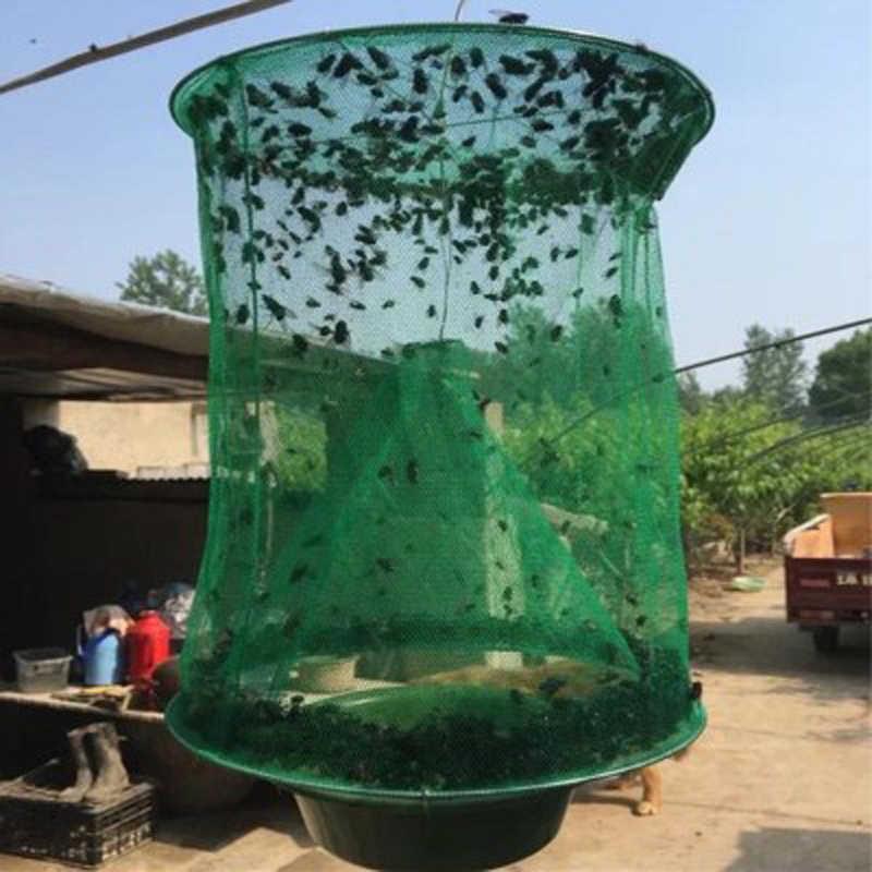 Peternakan Terbang Perangkap Outdoor Efektif Perangkap Abadi Memancing Gear dan Makanan Umpan Menjarah Penangkal Indoor atau Outdoor Pertanian Keluarga