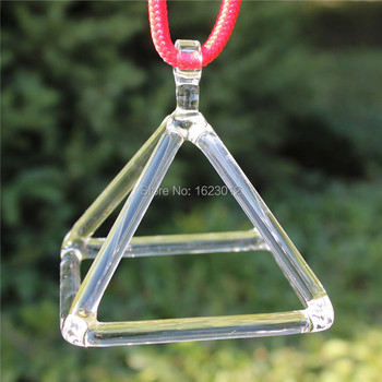 3inch and 7 inches crystal glass pyramid for healing