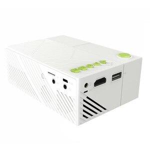 Image 4 - Excelvan YG310 cập nhật YG300 LED Máy Chiếu 800LM 3.5 mét 320x240 HDMI USB Mini Chiếu Home Media Player hỗ trợ 1080 p