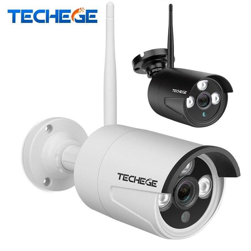 Techege 720P 960P 1080P Câmera IP Sem Fio de Áudio para Sistema de Câmera de CCTV Sem Fio APP EseeCloud ou IP pro