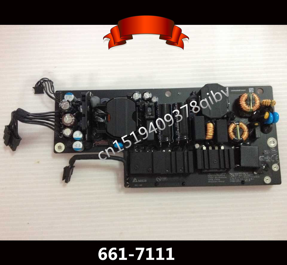 Genuine Tested 661-7111 For iMac A1418 185W Power Supply ADP-185BF Late 2012 Early 2013