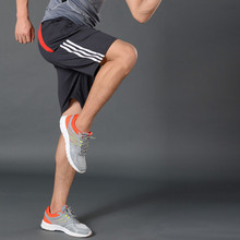New Gym Mens Sport Running Shorts Quick Dry Stripes
