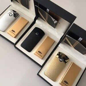 Image 5 - Mechero electrónico recargable por USB, accesorio para cigarrillo, Mechero con truenos de pulso