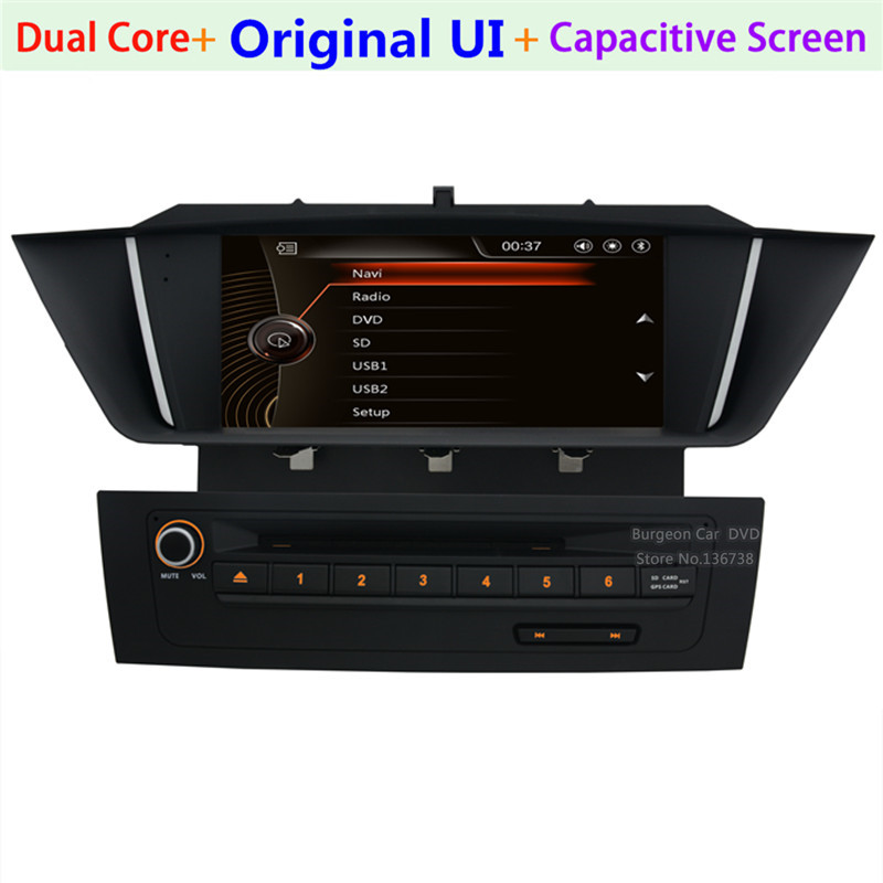 imágenes para Pantalla táctil de Coches Reproductor de DVD para BMW X1 E84 2009-2013 1080 P Ipod Radio USB SD 1080 P BT Estéreo de Navegación GPS sistema