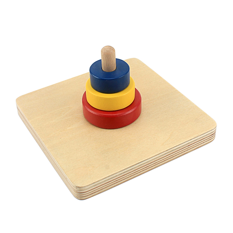 Color Box for Kids Early Developing Montessori 11Pcs Colored Pencil Holder