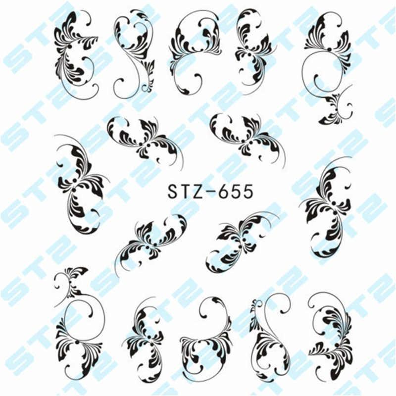 3 pcs เล็บสติกเกอร์ลูกไม้สร้อยคอสร้อยข้อมือออกแบบเล็บ Art Decals เคล็ดลับ DIY เล็บเครื่องมือ 88