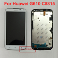 Best Working Touch Screen Digitizer+LCD Display Assembly with Frame For Huawei Ascend G610 G610S C8815 Panel Replacement Parts
