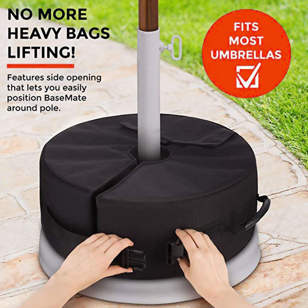 Sand Bag Leg Accessories Tent Stand Outdoors Round Fixed Sun Shelter Camping Tool Umbrella Weighted BaseSand Bag Leg Accessories Tent Stand Outdoors Round Fixed Sun Shelter Camping Tool Umbrella Weighted Base