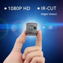 DINGFENTECH 2017 Smallest Cam 1080P Full HD Secret Mini Camera Night Vision IR-CUT Video Recorder Micro Camcorder DV DVR Spycam(China)