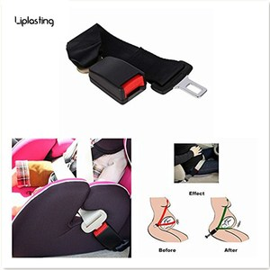 Universal 36cm Adjustable Car Auto Safety Seat Belt Clip Seatbelt Extension Extender Strap Buckle For Pregnant Women(China)