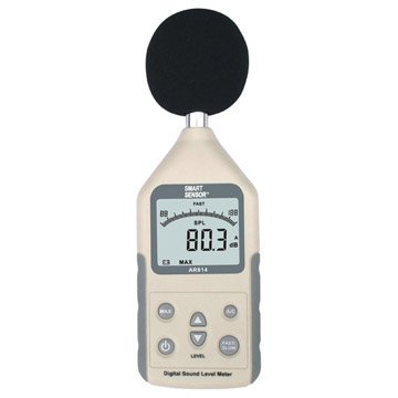 ФОТО Digital Sound Level Meter 30/35-130dBA Linearity Range:50dB 31.5Hz ~ 8.5KHz Free shipping Wholesale Retail and drop shipping