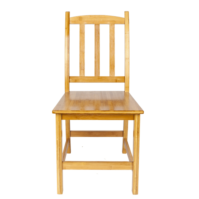 Bamboo Dining Chair Roche Bobois Chairs 2pcs Sturdy Wood Color In From