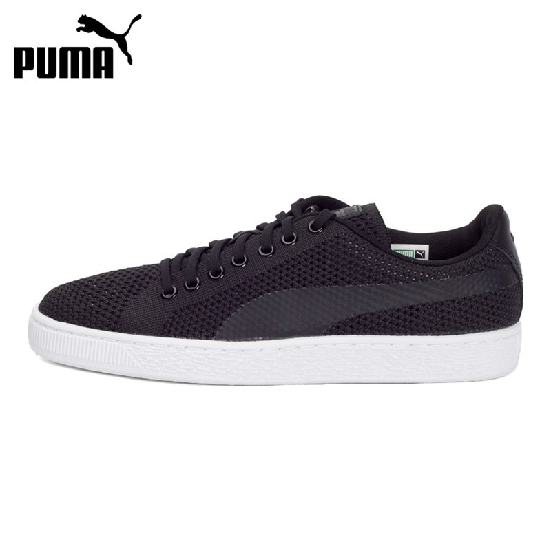 Original New Arrival 2017 PUMA Basket Classic evoKNIT Unisex Skateboarding Shoes Sneakers