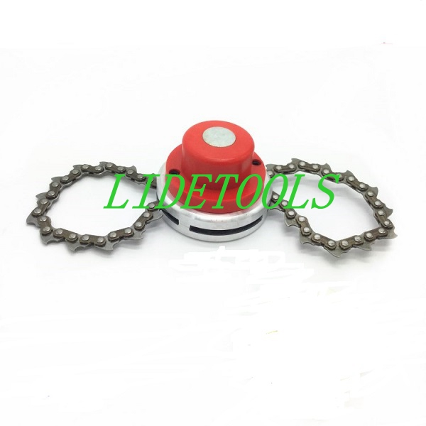 Super quality Chain Model Trimmer head,Tap-N-go bump feed head for brush cutter,grass trimmer