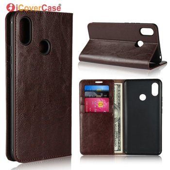 Flip Case For Xiaomi Mi Max 3 Luxury Real Genuine Leather Business Wallet Cover For Xiao Mi Max3 Bag Phone Accessory Etui Coque