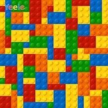 Yeele Lego Blocks Colorful Toy Baby Birthday Portrait Photography Backgrounds Customized Photographic Backdrops for Photo Studio