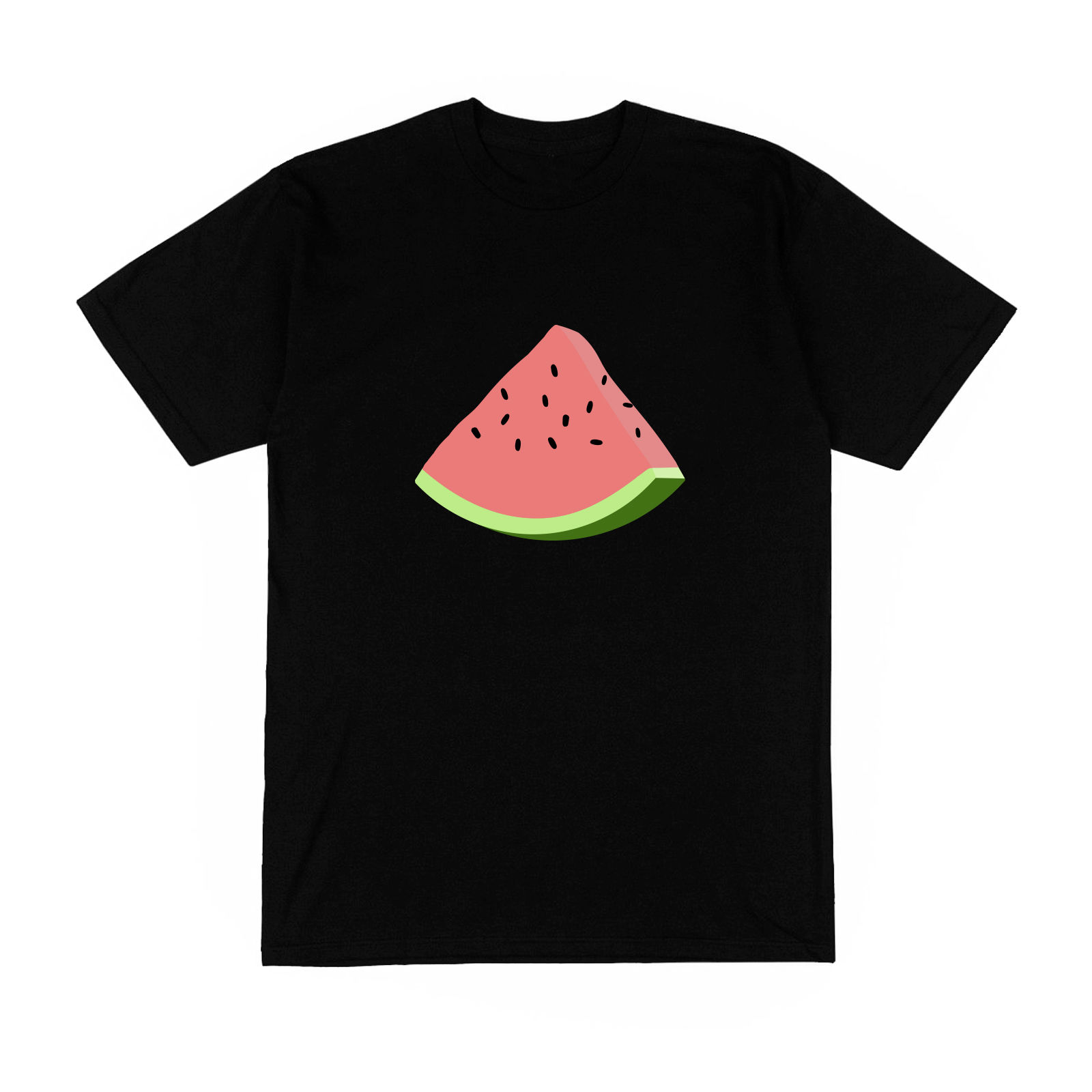 Women Short Sleeve Tee T-shirt Homme pasteque soleil plage vacances fruit amusant logo mode france