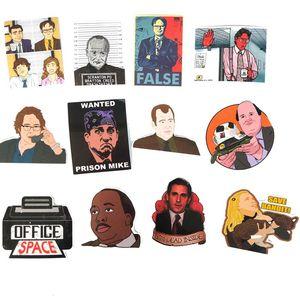 Image 4 - TD ZW autocollants Graffiti, étiquettes de séries TV américaine, pour ordinateur portable, les bagages, moto, décalcomanies en PVC, étanches, lot de 50 pièces