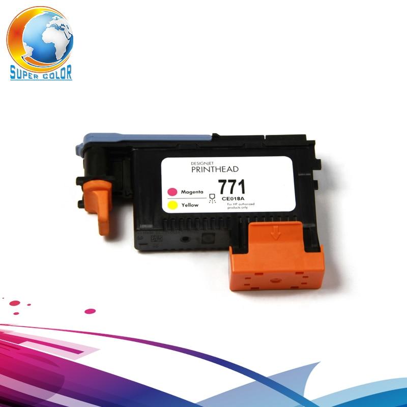 For HP 771 Remanufactured Printhead Compatible For HP Designjet Z6200 Z6600 Z6800 Printer Head hp 727 printhead b3p06a