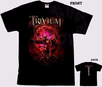 T Shirt Novelty Tops Men's Trivium American Heavy Metal Band T-Shirt Sizes S To 3XL Graphic Crew Neck Short Sleeve Tees