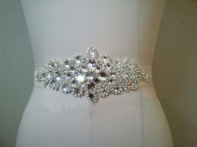 SAINT FORT NIA Wedding Dress Crystal Belt (53)