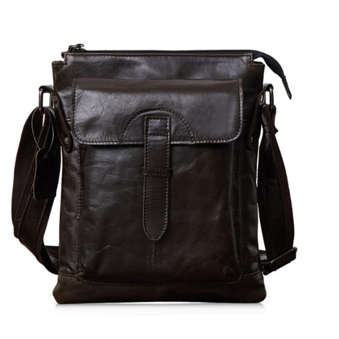 100% Genuine Leather Men Bag Casual Business Leather Mens Messenger Bag Fashion Men's Crossbody Bag bolsas male shoulder bag 11cls bolsas fashion 100