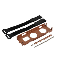 1PCS RC Car Battery Box Tray & Protective Plate for 1/10 RC Tamiya CC01 Chassis Upgrade Part