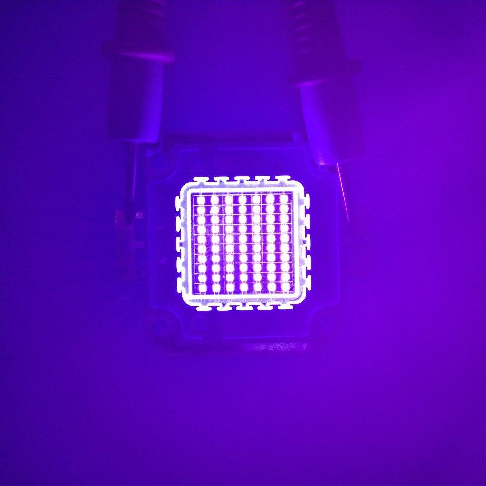 3w 10w 20w 30w 50w 100w UV led chip Ultra Violet High power LED UV Chip 365nm 375nm 385nm 395nm 405nm LED Ultra Violet light title=