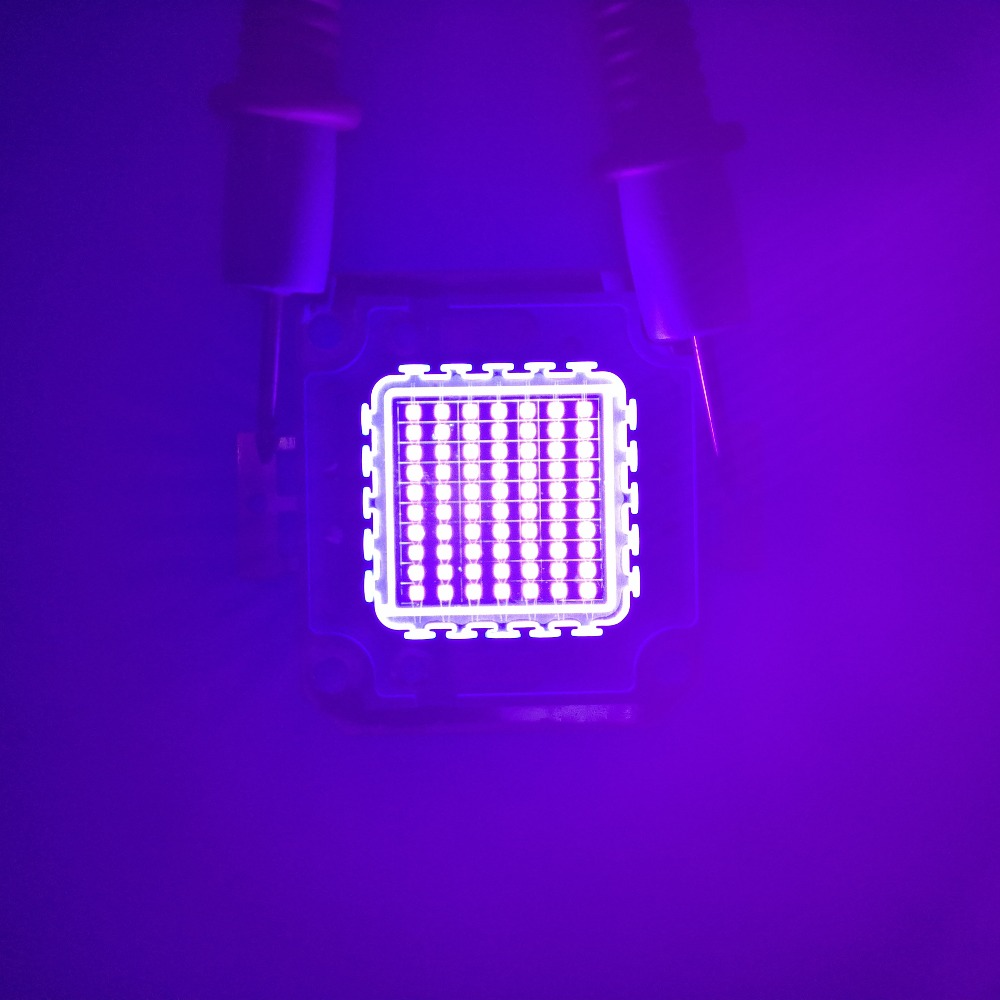 3w 10w 20w 30w 50w 70w 100w UV led chip,Ultra Violet High power LED UV Chip 365nm 375nm 385nm 395nm 405nm LED Ultra Violet light high quality 730nm 740nm ir led chip 10w 20w 30w 50w 100w led lamp epileds led chip for detecting sensor laser flashlight