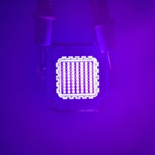 3 Вт 10 Вт 20 Вт 30 Вт 50 Вт 70 Вт 100 Вт УФ LED чип, ультрафиолетовый Мощный светодиод УФ чип 365nm 375nm 385nm 395nm 405nm LED ультрафиолетовый свет