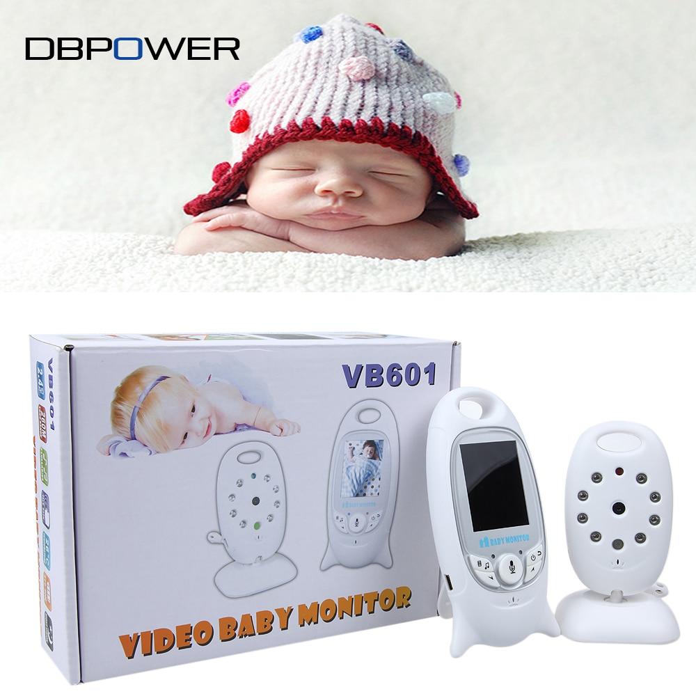 imágenes para 2 pulgadas Inalámbrico Bebé Monitor de La Cámara de 2 Vías Talk Visión Nocturna 5 M IR Temperatura Ambiente de Video Vigilancia de Seguridad Portátil cámaras