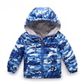 New Arrival Children's Spring& Autumn Camouflage Down Jacket High Quality Boys and Girls Down Hooded Coat Casual Sports Hoodies