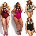 Lady Women Sexy Push-up Padded Bra Bikini Monokini Swimwear Swimsuit Plus Size One Piece L XL XXL XXXL